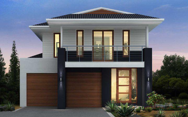 Metricon homes burleigh 30 plantation facade visit www for Metricon new home designs