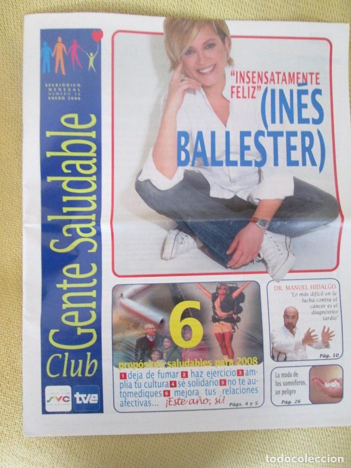 REVISTA CLUB GENTE SALUDABLE Nº 36 ENERO 2008