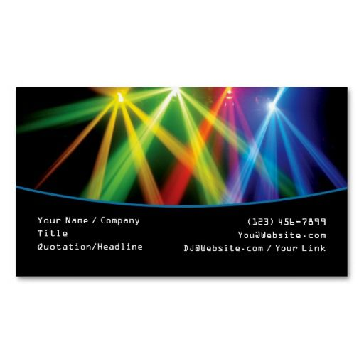 1000 images about dj business card templates on pinterest for Dj business cards templates