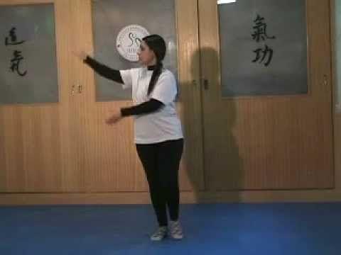 Tai Chi Chuan Yang Sequência de 8 movimentos - YouTube