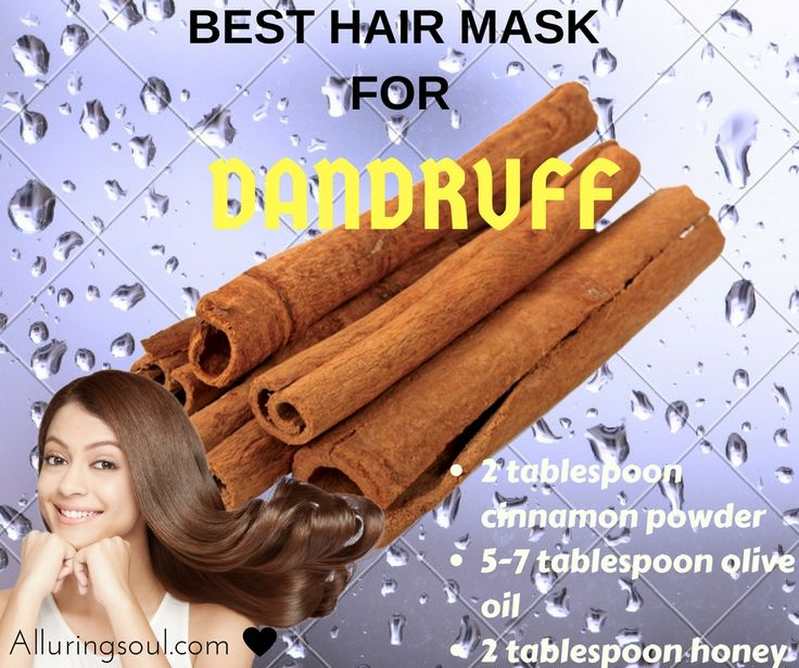 cinnamon hair mask -Cinnamon stimulates the scalp and increase blood circulation and helps with hair problems by preventing fungal and bacterial infections of the scalp. Microbial activity can cause hair loss. Cinnamon has antimicrobial properties which could treat dandruff caused by fungal infections. It can also be used to treat dry and brittle hair.