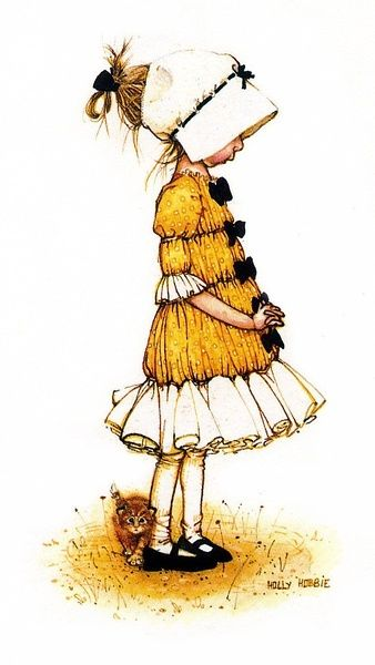 Holly Hobbie: I loved this when I was little. I had a Holly Hobbie sewing machine.