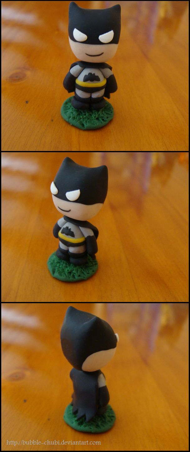 Clay Batman By Bubble Chubi Deviantart Com On Deviantart