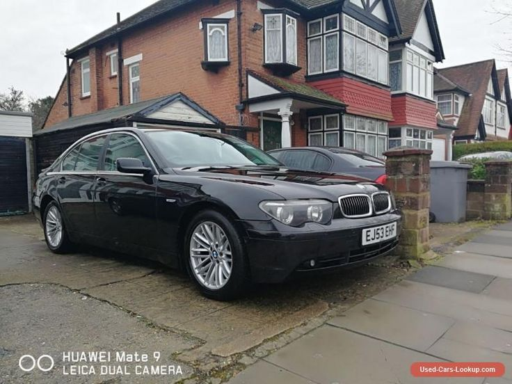BMW 730d With Full Service History Bmw 730 Forsale Unitedkingdom