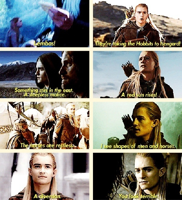 The obviousness of Legolas. <3