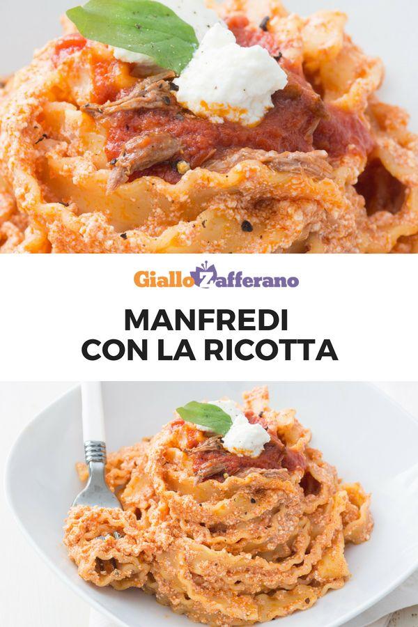 Manfredi con la ricotta ricetta ricette regionali for Ricette regionali