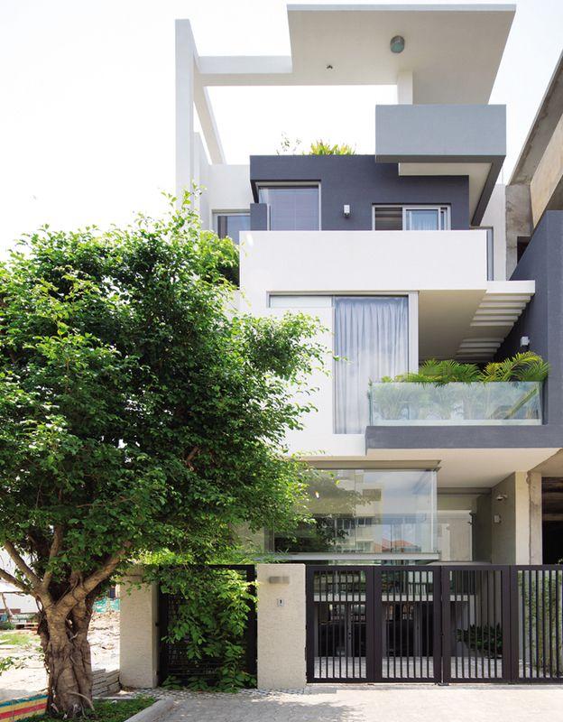Blog Vườn đứng trong nhà phố tại Sài Gòn   Nhà thầu vàng