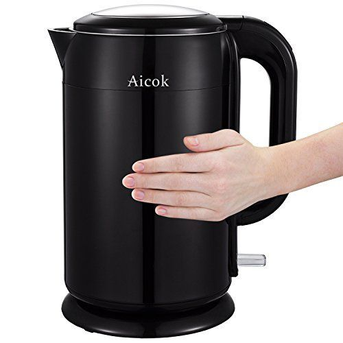 [$26] Aicok Stainless Steel Double Wall Water Boiler