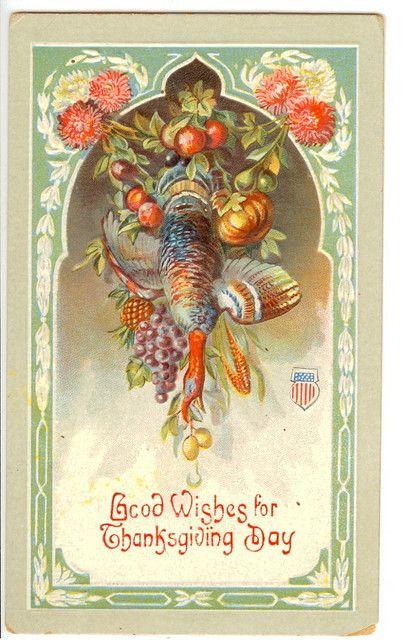 Vintage Autumn Postcards 9463