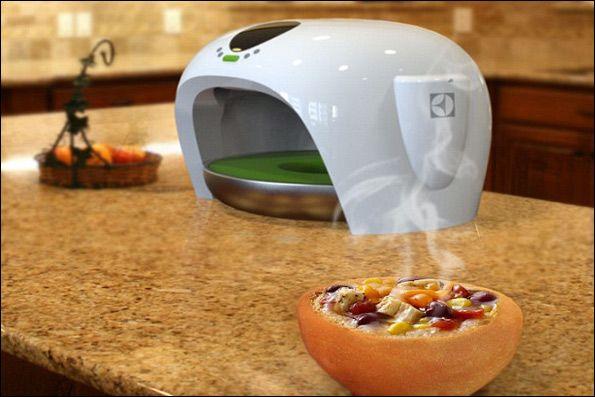 این ایده در واقع دستگاه جدیدی است که می تواند بشقاب ها و کاسه ها را خوردنی کند.
