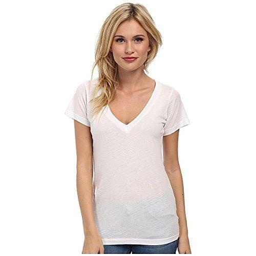 (エルエヌエー) LNA レディース トップス 半袖シャツ S/S Deep V 並行輸入品  新品【取り寄せ商品のため、お届けまでに2週間前後かかります。】 カラー:White カラー:ホワイト