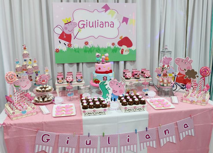 Peppa Pig Candy Bar  Violeta Glace