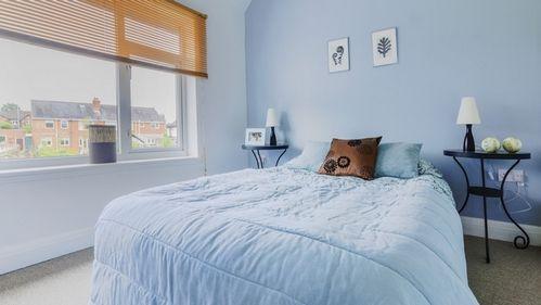 Покраска комнаты в два тона