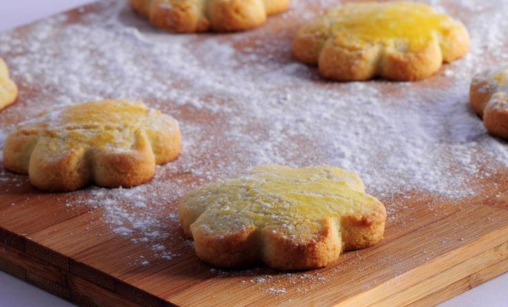 Biscuit de Noel citron amandes