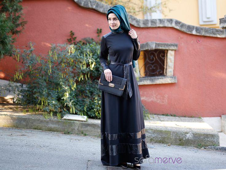 Tesettür Elbise 5471 - Farklı Renk Seçenekleriyle - #tesetturgiyim #tesettur #sefamerve #hijab