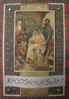 Niecodzienny nieco dziennik: Świątecznie - z motywem religijnym