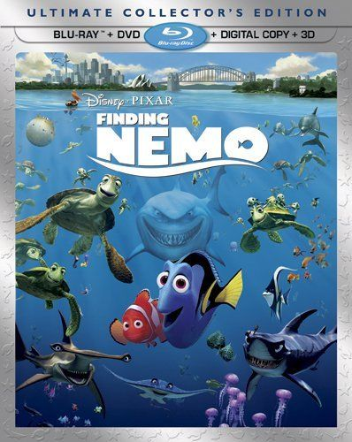 A delightful undersea world unfolds in Pixar's animated adventure Finding Nemo. When his son Nemo is captured by a scuba-diver, a nervous-nellie clownfish named Marlin (voiced by Albert Brooks) sets off into the vast--and astonishingly detailed--ocean to find him. Along the way he hooks up with a scatterbrained blue tang fish named Dory (Ellen DeGeneres), who's both helpful and a hindrance, sometimes at the same time.