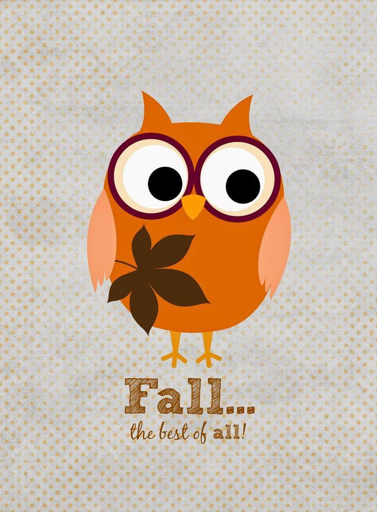 Free Fall {Printables} from gluedtomycraftsblog.com