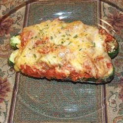Sausage Stuffed Marrow @ allrecipes.co.uk cooked this other day very yummy