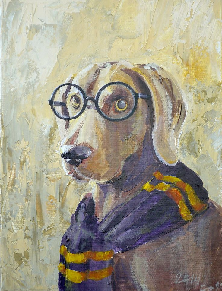 #friend #dog #art #acrylic