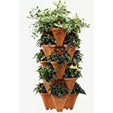 Amazon.com: Vertical Gardening Strawberry Planter/Herb Garden/Tomato Planters/Vegetable Pots (Terracotta): Patio, Lawn & Garden