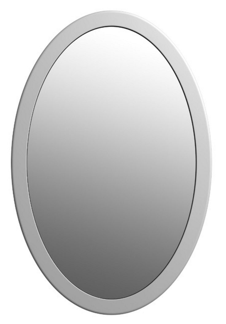 Oval Mirror with Matte Stone Finish – available only at A Dzgn.