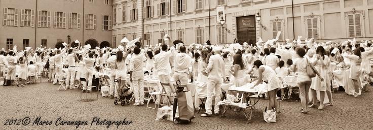 Cena in Bianco 2012 Piazzetta Reale Torino