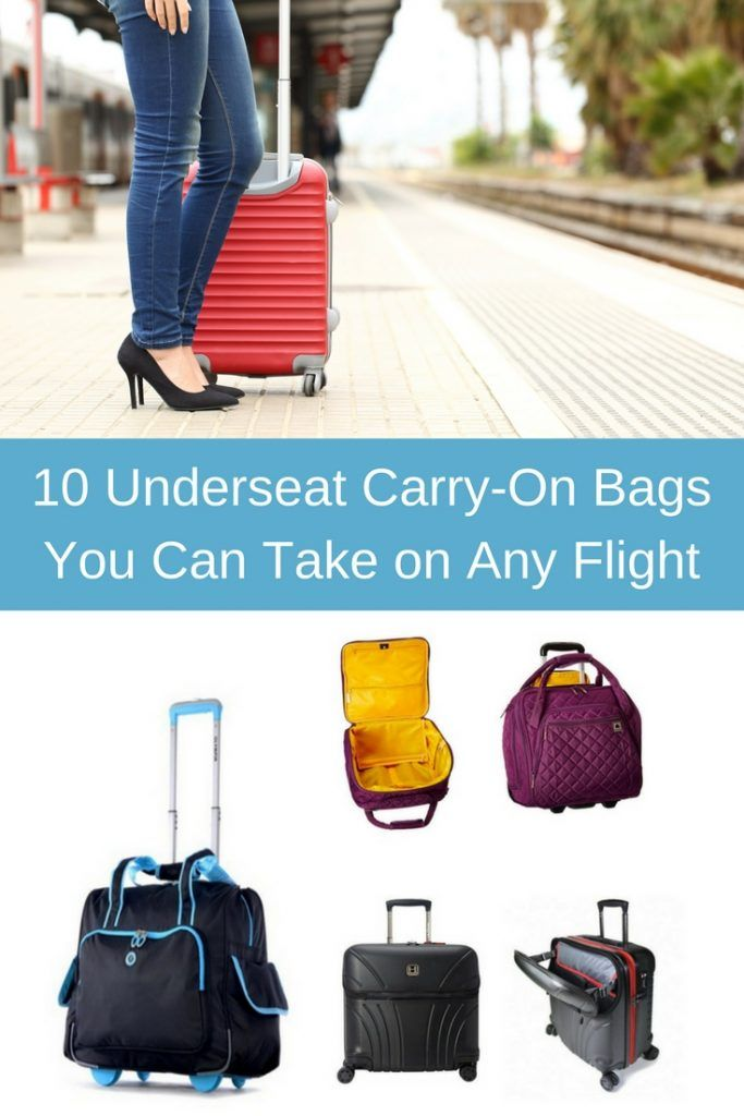 Make sure your carry-on bag stays on hand at all times with these 10 carry-on  bags that fit under your seat. cfe19e91083b9