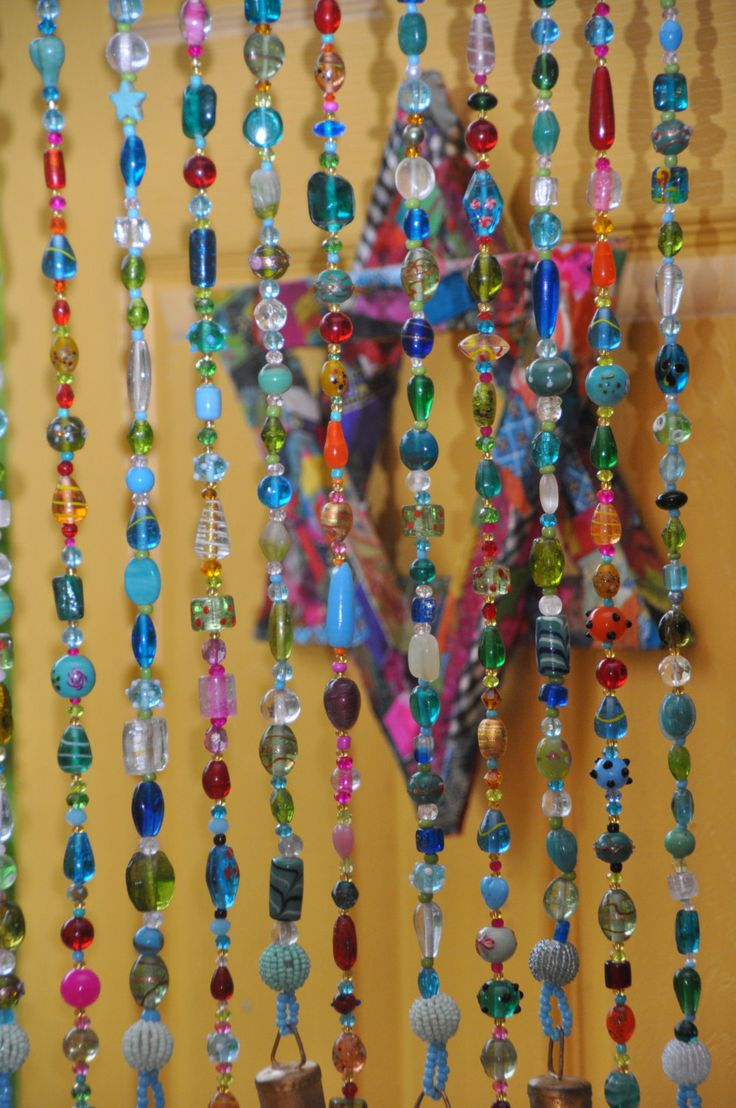 Beaded curtain,Glass Beaded Suncatcher, Window Curtain,Beaded Door Curtain,Hanging Door Bead,Bohemian Curtain,Suncatcher Curtain,Window Bead by RonitPeterArt on Etsy