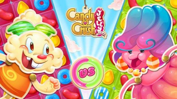 King Digital Entertainment pubblica Candy Crush Jelly Saga su iPhone