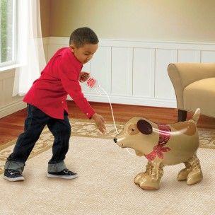 Ballon marcheur gentil chien