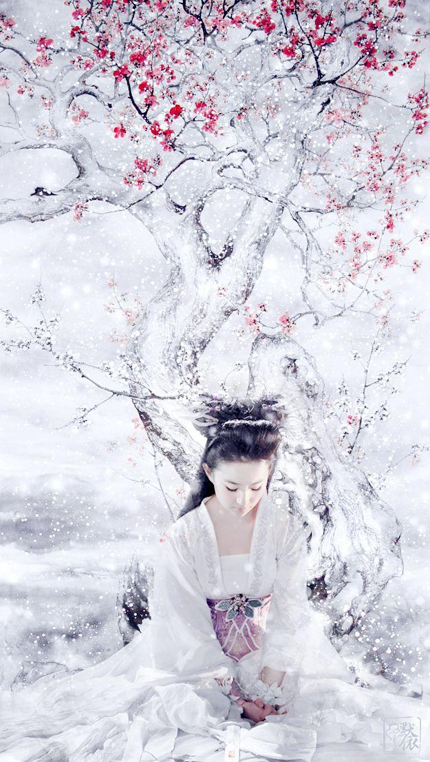 Liu Yifei in the snow | Cfensi