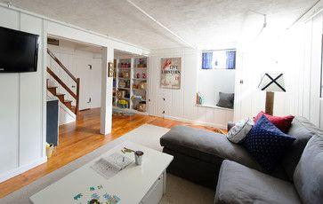 Basement Playroom - beach style - basement - boston - E.R. Miller