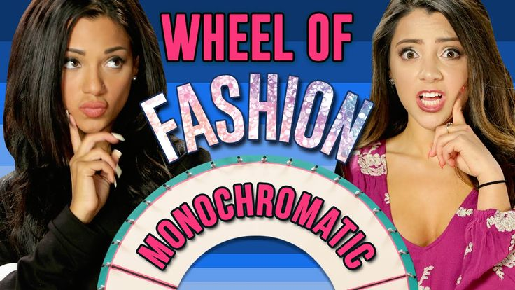 NikiAndGabi's Model Off Duty Look! Wheel Of Fashion - YouTube