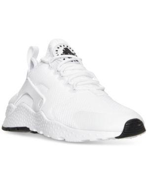 Nike Women's Air Huarache Run Ultra Running Sneakers from Finish Line - White 8.5