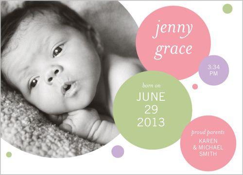 Circles Birth Announcement