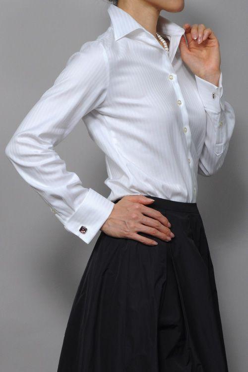 「優美な女性の品格、働く女性の品格」が一段とアップするシャツ!!毎日のシャツライフがより楽しくなる⇒ http://ozie.jp/1Y7OHRr