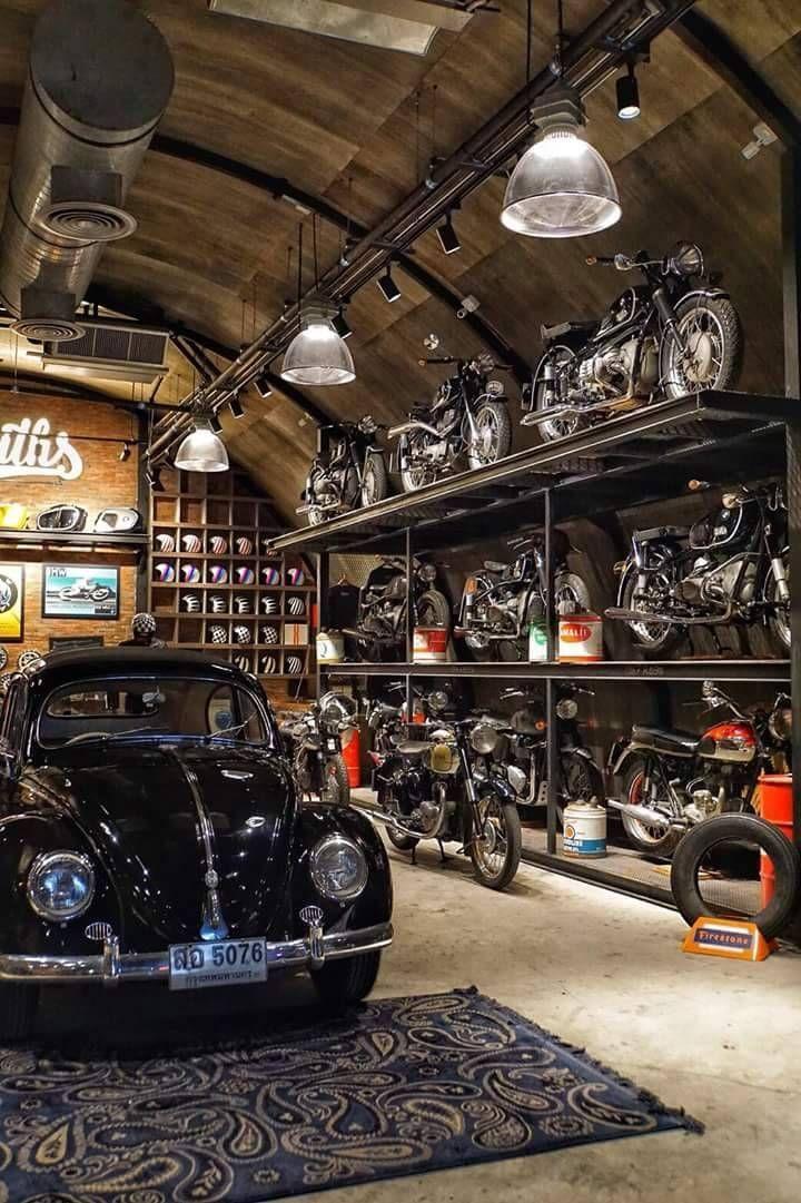 Car Interior Parts >> THE WORKSHOP | Garage design interior, Garage design ...