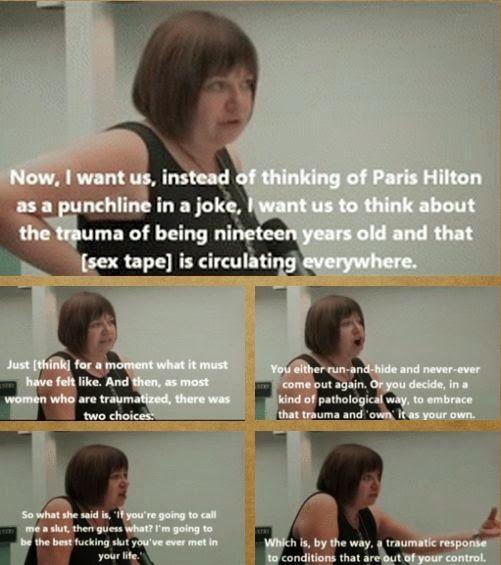 Feminist Elizabethan: Feminist Meme: Instead Of Thinking Of Paris Hilton...