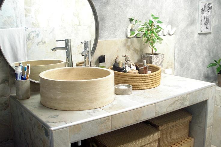 Wash bowl set up