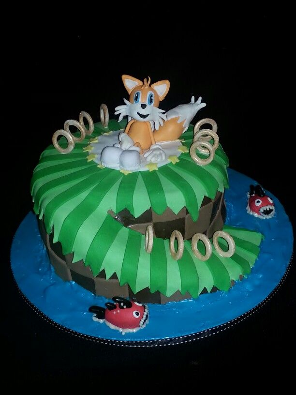 9 best Tails the Fox images on Pinterest | Sonic cake, Anniversary cakes and Birthday cakes