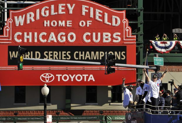 The Chicago Cubs won their first World Series since 1908 last season. (Paul Beaty | AP Photo)