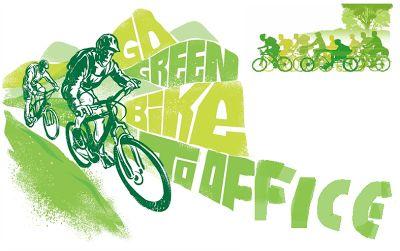 go Green-bike to office