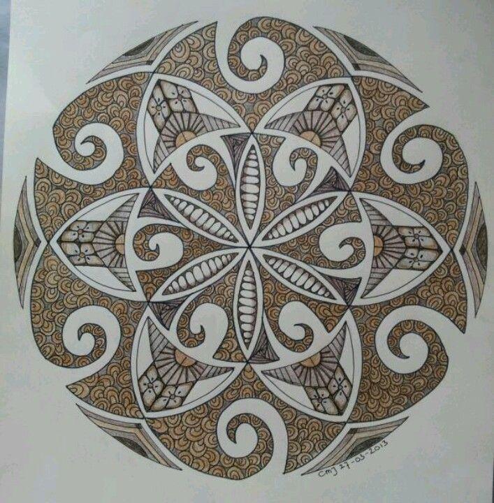 based on a maori design