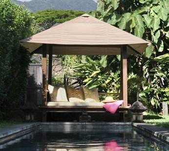 37 best images about outdoor daybed on pinterest outdoor for Outdoor pool daybeds