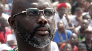 George Weah sworn in as Liberia's president Latest News