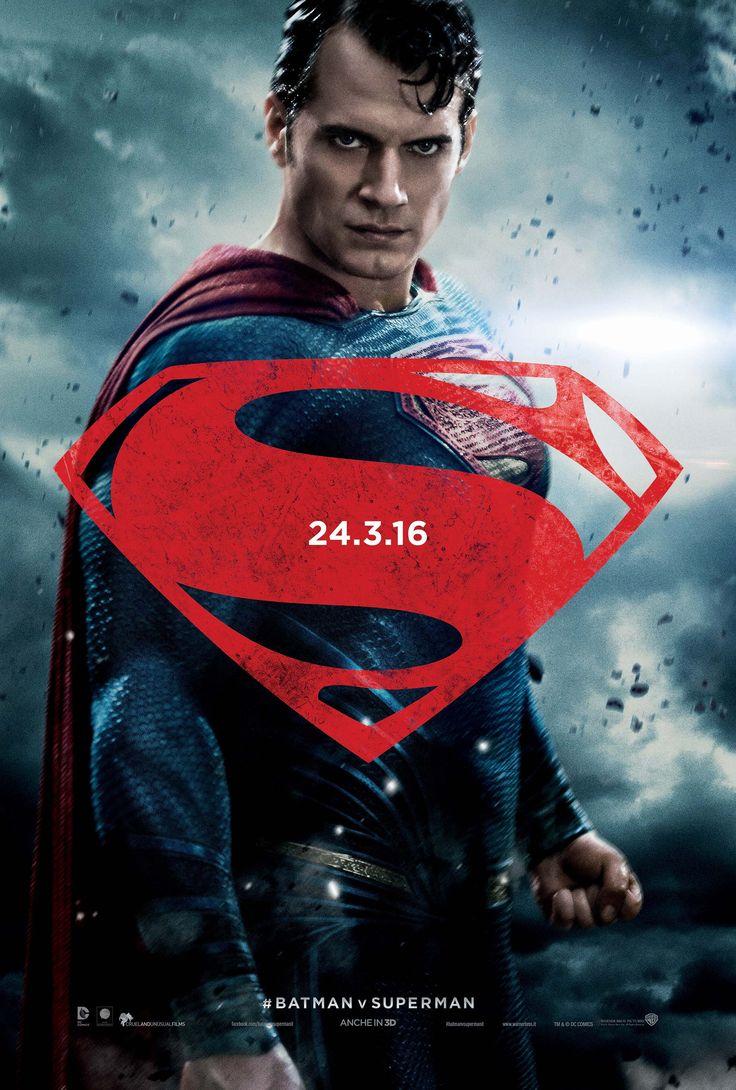 BATMAN V SUPERMAN: DAWN OF JUSTICE - Character Poster Italiani!