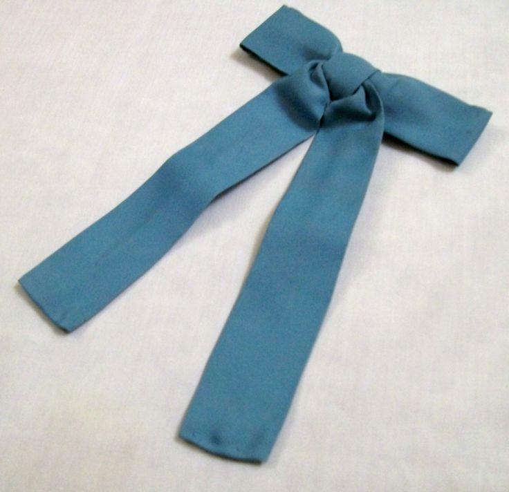 Western Tie, Blue Tie, Kentucky Bowtie, 1950s, Cuntry Western Tie, Cowboy Cowgirl, Clip On Tie, Boys Bow Tie by VintagePlusCrafts on Etsy