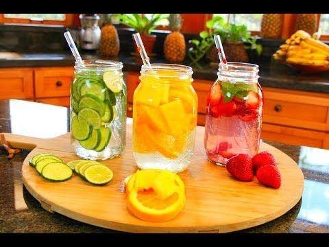 ▶ Aguas Frutales y Desintoxicantes! - YouTube