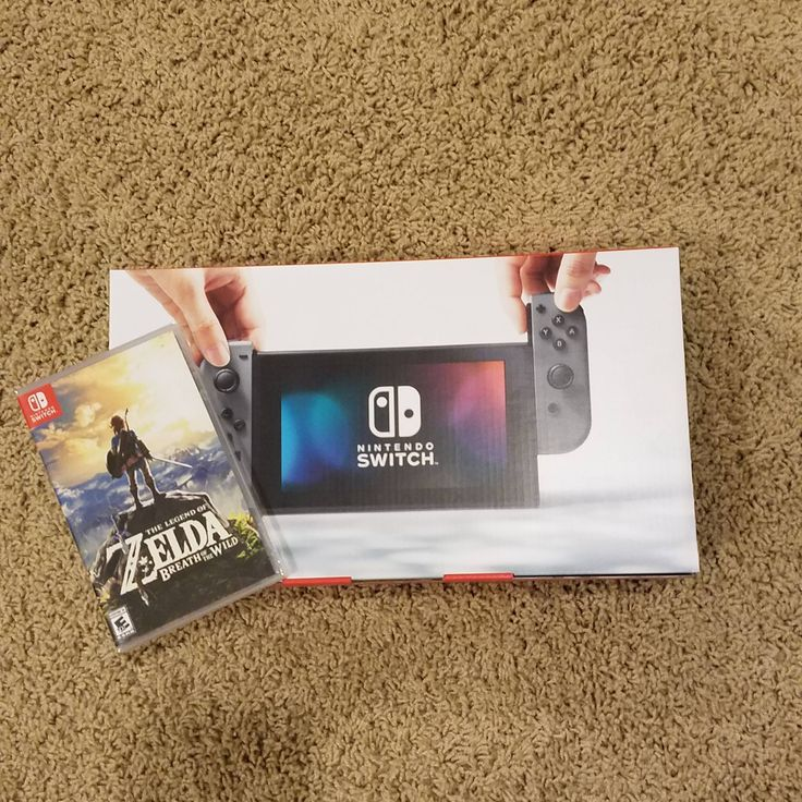 My first Nintendo console in over a decade. Let's do this!